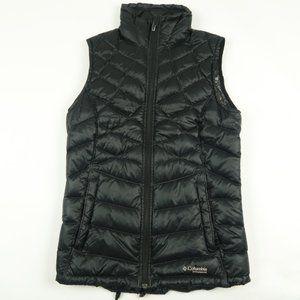 Columbia Omniheat Black Quilted Down Puffer Vest